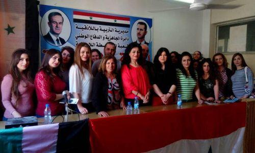 جولة فريق العمل في المركز على الرياض الحكومية والخاصة في حماة – السويداء – اللاذقية